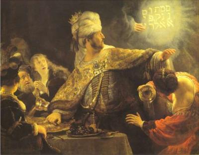 Rembrandt-Belshazzar