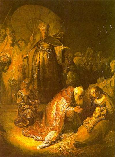 The Adoration of the Wise Men image